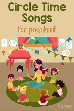 Songs are pure magic during preschool circle time, and these all teach something specific, as well! Your children or students can learn circle time songs that teach the alphabet, the planets, the days of the week, the months of the year, and more. There are also songs that welcome kids and engage them! Preschool Alphabet, Teaching The Alphabet, Preschool Songs, Preschool Themes, Alphabet Activities, Kids Songs, Learning Activities, Teaching Kids, Activities For Kids