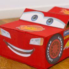 Saetta McQueen in scatola
