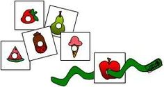 The Very Hungry Caterpillar activity to practise listening and fine motor skills