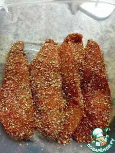 Сыровяленная куриная грудка «А-ля Карпаччо» ингредиенты