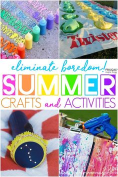 Fun in the Sun - DIY Summer Fun Ideas for Kids. Boredom Busters, crafts and activities. #Frugalcouponliving #boredom #boredombuster #summer #summerfun #bucketlist #kidsactivities #kidscrafts #summercrafts #summeractivities #crafts #activitiesforkids #activities