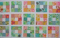nine patch quilt images | Nine-Patch Quilt-Along