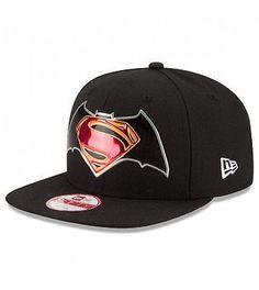 New era snapback batman vs #superman title #chrome cap #9fifty dc comics, View more on the LINK: http://www.zeppy.io/product/gb/2/322064517684/