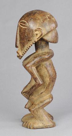 Rare effigie d'ancêtre Basikasingo PRE BEMBE statue Misi ancestor figure Congo MC0666 Africa Afrika Afrique African Tribal Art Africain  arte africano Afrikanische kunst arte africano #tribal #africanart #tribalart #buyu #boyo #prebembe #basikasingo
