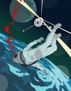 Recovery Mission by David Merrique, via Behance