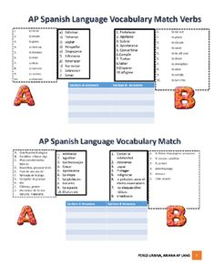 Here is an organized book to use with your AP Spanish Language and Culture class.Weekly activities/2 puzzles/worksheets