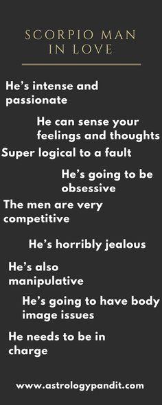 scorpio men and relationships