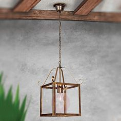 Buy Falotta Hanging Light Wonderful Square Single Bulb ✓Top-rated service ✓Comfortable & secure payment Years of experience ✓Order now! Rustic Lanterns, Hanging Lights, Bulb, Beautiful Lamp, Hanging, Lantern Designs, Pendant Light, Light, Warm Light