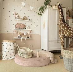 Ideas to decorate your baby& room with our puff. With warm and soft colors to give your baby that rest. Get inspired and steal some ideas de habitacion de bebe Baby Bedroom, Baby Room Decor, Nursery Room, Girls Bedroom, Bedroom Decor, Kids Bedroom Designs, Kids Room Design, Little Girl Rooms, Room Interior