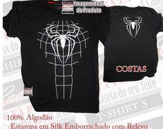 Camiseta Homem Aranha - Série Especial