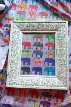 How to: Framed Fabric Art | Sarah Johnson