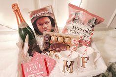 Easy Valentines Hamper For Him & Her | The Glitter Nest