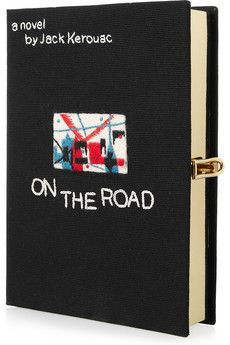 OLYMPIA LE-TAN  On The Road embroidered clutch