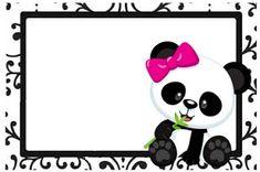 Professora Tati Simões: Kit Panda Preto, branco e rosa para imprimir grátis Panda Birthday Party, Panda Party, Bear Birthday, Panda Icon, Cute Panda Drawing, Regalo Baby Shower, Panda Decorations, Book Labels, Panda Wallpapers