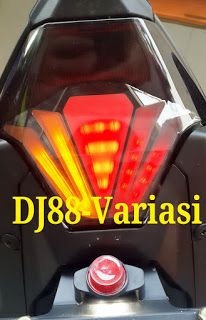 StopLamp 3in1 Yamaha R25 , MT25 , MX king Bumbblebee | lampu belakang 3in1 yamaha R25 , Mt25 , MX king 150 | Lampu stop with sein led | Tail light Yamaha r25 , MT25 , Mx king 150