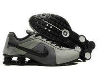new product b713e fbbda chaussures nike shox r4 homme (gris anthracite noir) pas cher en ligne.