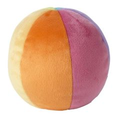 LEKA Pluchen speelgoed bal IKEA De bal is perfect voor baby's en kleine kinderen omdat deze zacht, licht en knuffelbaar is.