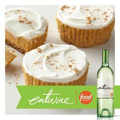 Pumpkin. Cheesecake. Wine. Need we say more? https://www.entwine-wines.com/pairings/mini-pumpkin-cheesecakes