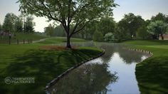 Crooked Stick GC - Hole #6 - as found in Tiger Woods PGA Tour 13... video games are so good these days you can almost smell the grass!
