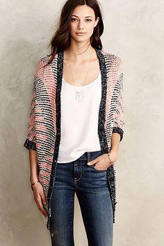 Carrefour Jacquard Cardigan #fashion #anthropologie