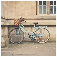 mint bicycle photograph cambridge photograph by oohprettyshiny, $35.00