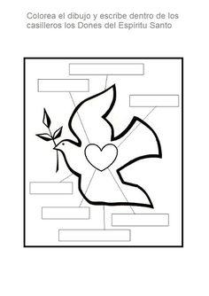 La Catequesis (El blog de Sandra): Recursos Catequesis Octavo Domingo de Pascua: Pentecostés Catholic Religious Education, Catholic Gifts, Church Activities, Bible Activities, Book Page Art, Church Crafts, Remembrance Day, Bible For Kids, Bible Crafts