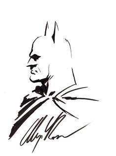 Batman sketch by Alex Ross