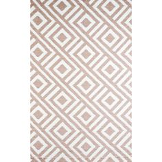 This Malibu mat is made with highest grade of recycled polypropylene, is waterproof, and easy to clean. The beige and white geometric pattern of this mat is tightly woven with tubular yarn which promotes durability.http://www.overstock.com/Home-Garden/Woven-B.B.-Begonia-Malibu-Beige-Recycled-Plastic-Mat-4-x-6/6756660/product.html?CID=214117 $45.04