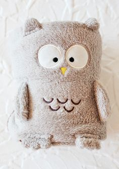 Warm Wisdom Owl Blanket