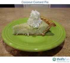 It can be hard to find a true custard pie.
