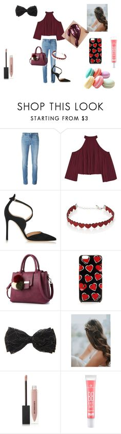 """""""For my sister"""" by cutiepie-68 ❤ liked on Polyvore featuring Givenchy, W118 by Walter Baker, Gianvito Rossi, Simons and Burberry"""