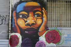 NEW YORK - JUNE 1: Mural at East Williamsburg in Brooklyn on June 1, 2014. Outdoor art gallery known as the Bushwick Collective has most diverse collection of street art in Brooklyn #NBXnewyork