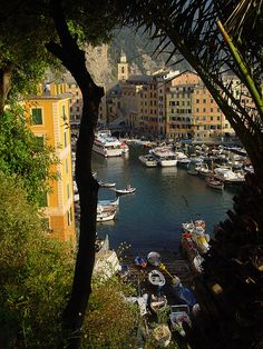 Camogli is a small Italian fishing village and tourist resort located in the province of Genoa on the Italian Riviera