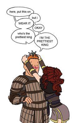 Alistair is a pretty princes--King hahaha