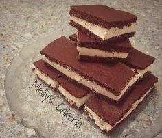 Keto-Milchschnitten – Der leckere Snack frisch aus dem Kühlschrank! - Jetzt das ganze Rezept auf www.keto-rezepte.de finden!