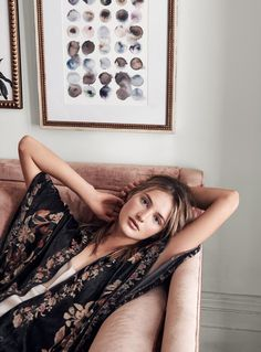 Choose a printed cover-up for eastern charm....x