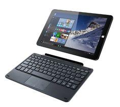 Linx 1010B 10.1 inch Tablet (Black) - (Intel Atom Z3735F Quad Core, 32 GB, 2 GB, Windows 10) Bundle with Keyboard