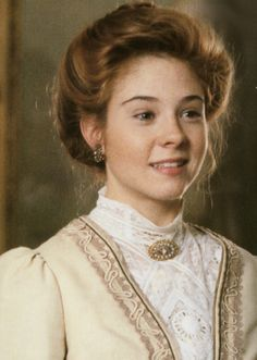 Megan Follows.  One of my favorite stories as a child, Anne of Green Gables (and Anne of Avonlea)