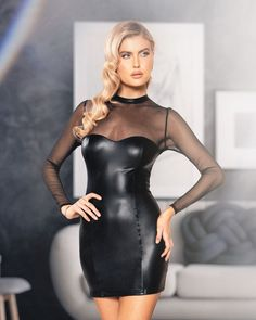 All Black Fashion, Beautiful Women Pictures, Beautiful Ladies, Womens Workout Outfits, Lace Bodysuit, Cute Casual Outfits, Look, Bodycon Dress, Clothes For Women