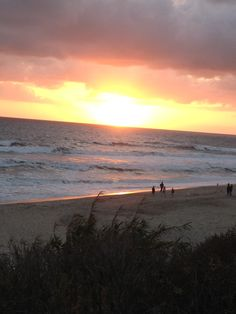 Sunset in Carlsbad, CA Places Ive Been, Beautiful Places, Celestial, Spaces, Sunset, Beach, Water, Outdoor, Gripe Water