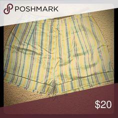 Selling this Vintage High Waisted Striped Shorts on Poshmark! My username is: battyjordyn. #shopmycloset #poshmark #fashion #shopping #style #forsale #Pants