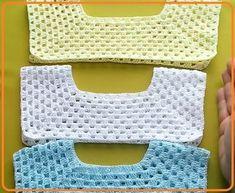 Crochet Baby Bib from Vintage Pattern Crochet Baby Bibs, Crochet Dress Girl, Crochet Baby Sweaters, Crochet Yoke, Crochet Barbie Clothes, Crochet Toddler, Crochet Fabric, Crochet Girls, Crochet Poncho