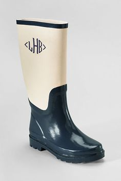 Women's Canvas Shaft Wellie Boots from Lands' End