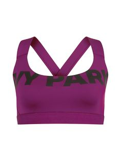 Ivy Park Classic Logo Sports Bra   From the gym to the streets, shop Beyoncé's Ivy Park on Fashercise now - free worldwide shipping on orders over £150!