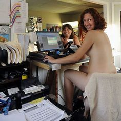 Naked At The Office