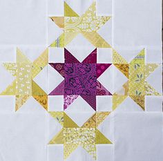 Radiant Splendor ~ A Quilt Block Tutorial 20-1/2″ x 20-1/2″ unfinished quilt block