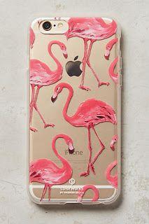 Anthropologie flamingo iphone case, love it!
