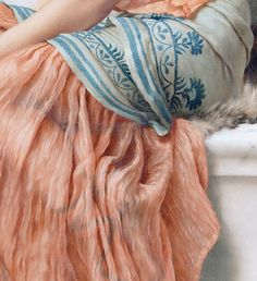 John William Godward #Fashion #Art #Detail