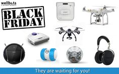 Black Friday Starts Now! Enjoy 10% on EVERY PRODUCT of our website with the coupon code ILOVEWELLBOTS. No restriction, no exception! And discover our best selling products with up to 40% discount on our Black Friday Category! Parrot, Sphero, DJI, Yuneec APV, Ecovacs, Grillbot LLC., Beddit and many more are waiting for you. https://www.wellbots.com/Black-Friday/