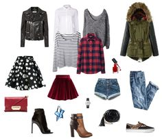 Maleta Navidad Polyvore, Image, Fashion, Shopping, Navidad, Moda, Fasion, Fashion Illustrations, Fashion Models